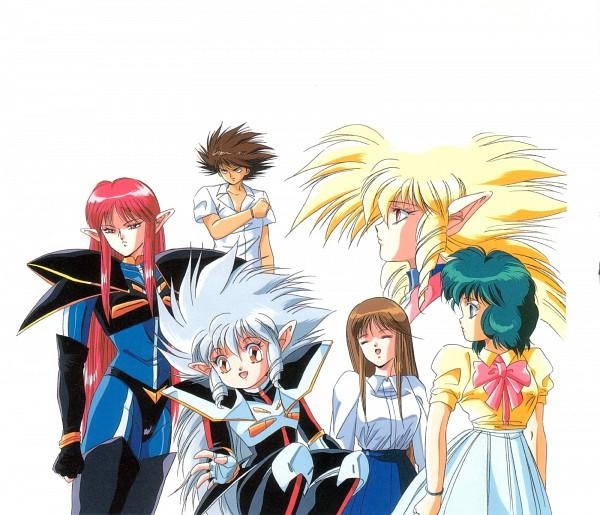 Tags: Anime, Toshihiro Hirano, Anime International Company, Iczer, Iczer-one (Iczer), Iczer-three (Iczer), Iczer-two (Iczer), Scan