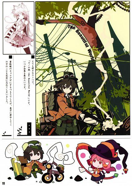 Tags: Anime, Ideolo, NEKO WORKi, Kino no Tabi, IRO GAME, Kino (Kino no Tabi), Comic Market 81, Scan