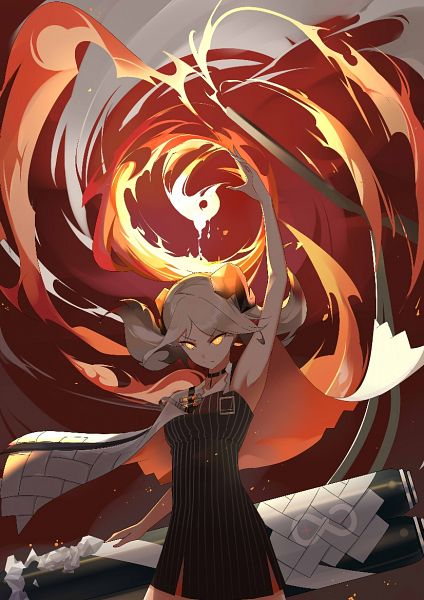 Tags: Anime, Pixiv Id 17718709, Arknights, Ifrit (Arknights)