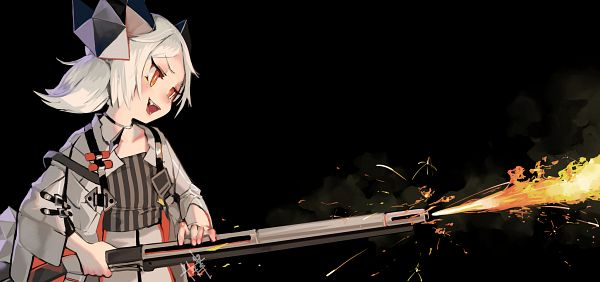 Tags: Anime, Pixiv Id 36051814, Arknights, Ifrit (Arknights)