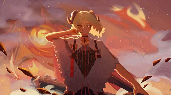 Tags: Anime, Pixiv Id 12028230, Arknights, Ifrit (Arknights)