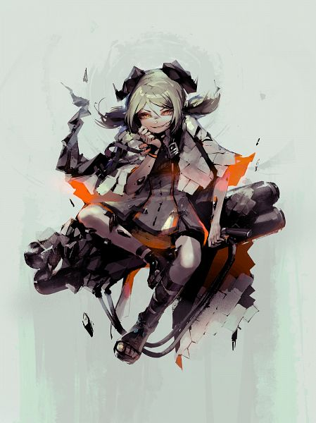 Tags: Anime, Pixiv Id 53666108, Arknights, Ifrit (Arknights), Pixiv, Arknights Battle Illustration Contest