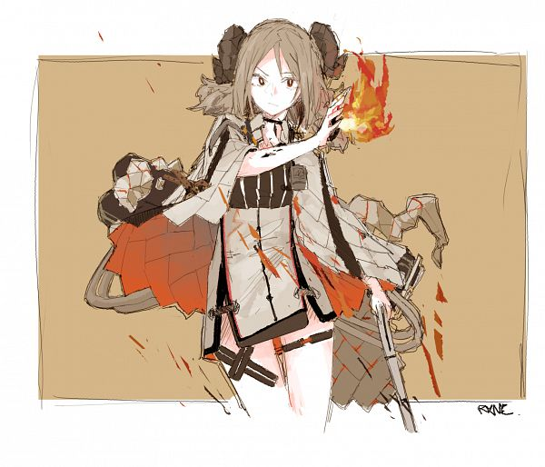 Tags: Anime, Pixiv Id 15085273, Arknights, Ifrit (Arknights)