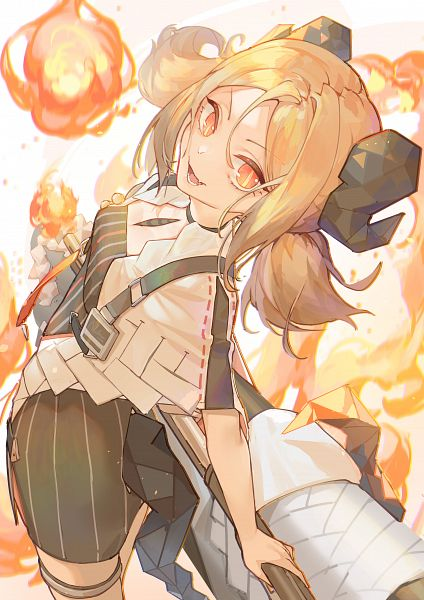 Tags: Anime, Pixiv Id 24535359, Arknights, Ifrit (Arknights)
