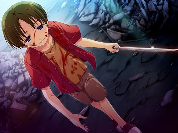Tags: Anime, Tomose Shunsaku, Akatsuki no Goei, Igarashi Akira, CG Art