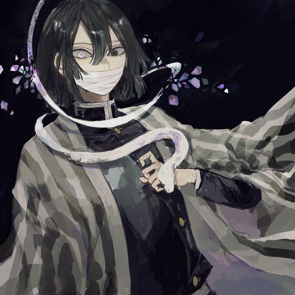 Tags: Anime, Pixiv Id 1813952, Kimetsu no Yaiba, Iguro Obanai, Fanart From Pixiv, Pixiv, Fanart