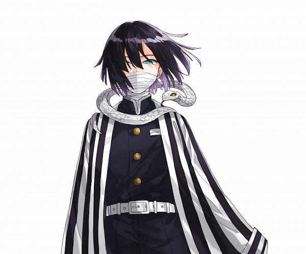 Tags: Anime, Pixiv Id 39100113, Kimetsu no Yaiba, Iguro Obanai, Pixiv, Fanart, Fanart From Pixiv