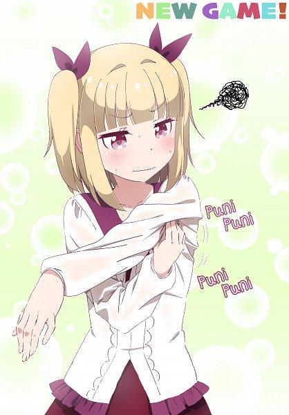 Tags: Anime, Pixiv Id 5518650, NEW GAME!, Iijima Yun, Fanart From Pixiv, Pixiv, Fanart