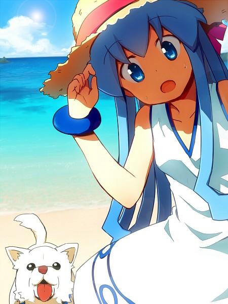 Tags: Anime, K.Ei, Shinryaku! Ikamusume, Ikamusume, Fanart, Squid Girl