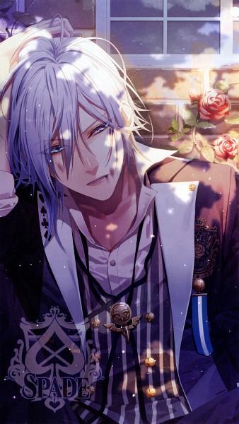 Tags: Anime, AMNESIA, Spade (Card), Official Art, Scan, Mobile Wallpaper