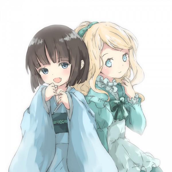 Tags: Anime, Aquariumtama, Ikoku Meiro no Croisée, Yune (Ikoku Meiro no Croisee), Alice Blanche, Pixiv, Fanart