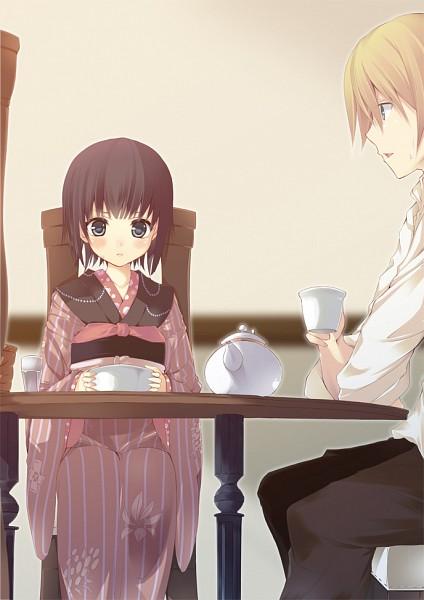 Tags: Anime, Minaseyu No, Ikoku Meiro no Croisée, Yune (Ikoku Meiro no Croisee), Claude Claudel