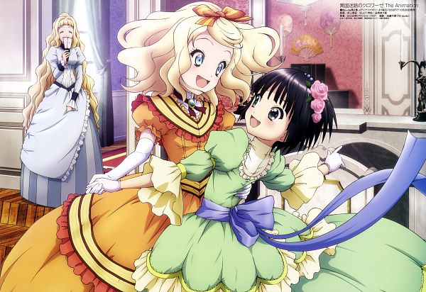 Tags: Anime, Inoue Hideki, Ikoku Meiro no Croisée, Megami #138 2011-11, Yune (Ikoku Meiro no Croisee), Camille Blanche, Alice Blanche, Official Art