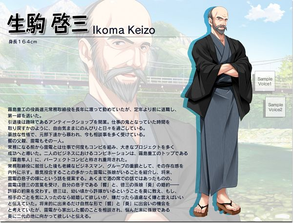 Ikoma Keizou - Hani Tsuma