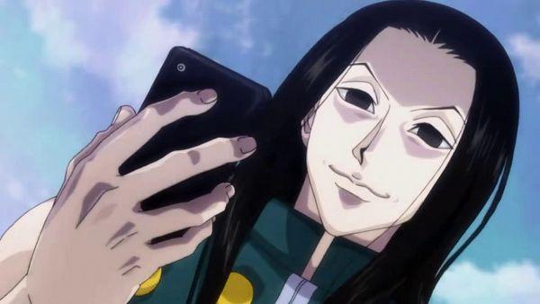 Tags: Anime, Hunter x Hunter, Illumi Zoldyk, Wallpaper, Small Screenshot, Screenshot