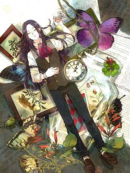 Tags: Anime, Zoff, Hunter x Hunter, Illumi Zoldyk, Ladybug, Beetle, Pocket Watch, Wallpaper, Fanart