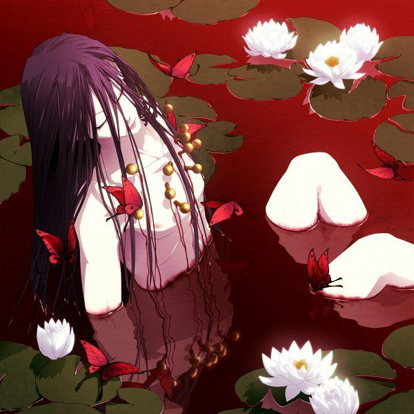 Tags: Anime, Jiroko, Hunter x Hunter, Illumi Zoldyk, Pins, Lily Pads, Fanart, Pixiv