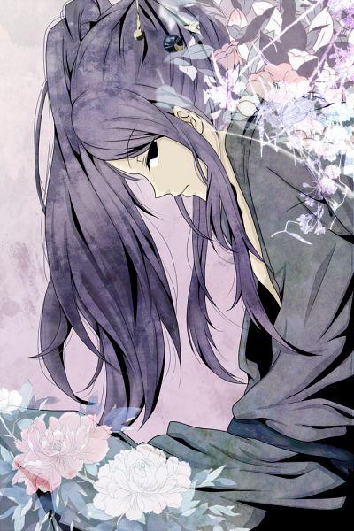 Tags: Anime, Blacksheep27, Hunter x Hunter, Illumi Zoldyk, Gray Outfit, Face Down, Fanart, Mobile Wallpaper, Pixiv