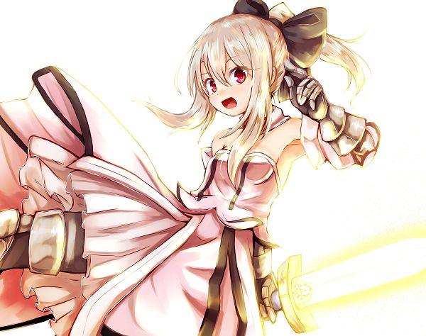 Tags: Anime, Baram (Artist), Fate/kaleid liner PRISMA ☆ ILLYA, Illyasviel von Einzbern, Illya (Saber Install), PNG Conversion