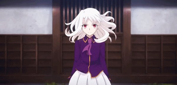 Tags: Anime, ufotable, Fate/stay night : Heaven's Feel - III Spring Song, Fate/stay night : Heaven's Feel, Fate/stay night, Illyasviel von Einzbern, Animated GIF