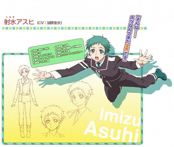 Tags: Anime, Amasaki Manamu, Dogakobo, Mikagura Gakuen Kumikyoku, Imizu Asuhi, PNG Conversion, Cover Image, Official Art