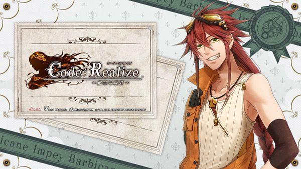 Tags: Anime, miko (Artist), IDEA FACTORY, Code: Realize ~Sousei no Himegimi~, Impey Barbicane, HD Wallpaper, Official Wallpaper, Wallpaper, Official Art