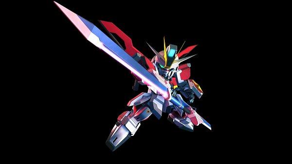 Tags: Anime, Bandai Namco Entertainment, Mobile Suit Gundam SEED Destiny, SD Gundam G Generation, Impulse Gundam, Wallpaper, Gundams