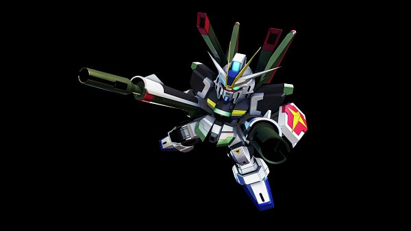 Tags: Anime, Bandai Namco Entertainment, Mobile Suit Gundam SEED Destiny, SD Gundam G Generation, Impulse Gundam, Wallpaper, Gundams
