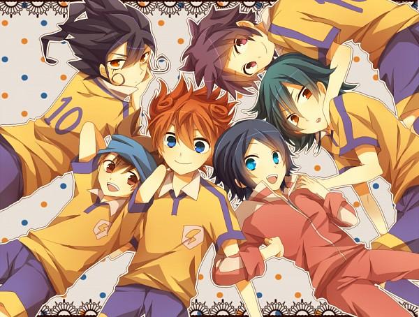 Tags: Anime, Otohata Natsumu, Level-5, Inazuma Eleven GO, Inazuma Eleven, Kageyama Hikaru, Tsurugi Kyousuke, Kariya Masaki, Matsukaze Tenma, Sorano Aoi, Nishizono Shinsuke, Pixiv, Fanart, Inago First Year Group