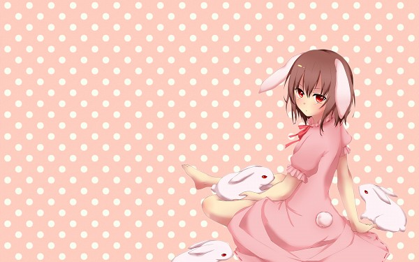 Tags: Anime, Pixiv Id 4113956, Touhou, Inaba Tewi, Wallpaper, Fanart From Pixiv, Fanart, Pixiv, Tewi Inaba