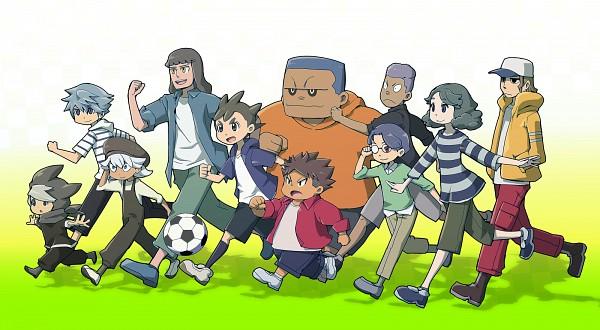 Tags: Anime, Pixiv Id 6345, Inazuma Eleven: Ares no Tenbin, Hiura Kirina, Goujin Tetsunosuke, Umihara Norika, Iwato Takashi, Kozoumaru Sasuke, Inamori Asuto, Michinari Tatsumi, Hattori Hanta, Okuiri Hiro, Mansaku Yuuichirou
