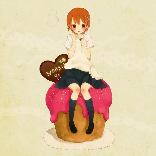 Tags: Anime, Mizutama Ko, Working!!, Inami Mahiru, Pixiv