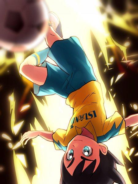 Tags: Anime, Pixiv Id 867769, Inazuma Eleven: Ares no Tenbin, Inamori Asuto, Inakuni Raimon Uniform, Fanart From Pixiv, Mobile Wallpaper, Pixiv, Wallpaper, Fanart, Sonny Wright