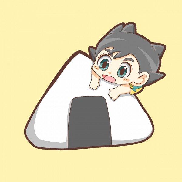 Tags: Anime, Pixiv Id 23382818, Inazuma Eleven: Ares no Tenbin, Inamori Asuto, Inakuni Raimon Uniform, Onigiri, Fanart From Pixiv, Pixiv, Fanart, Sonny Wright