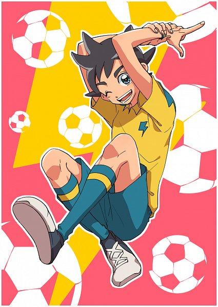 Tags: Anime, Pixiv Id 23777129, Inazuma Eleven: Ares no Tenbin, Inamori Asuto, Inakuni Raimon Uniform, Fanart From Pixiv, Pixiv, Fanart, Sonny Wright
