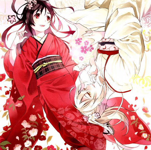 Tags: Anime, Yoshida Morohe, Production IMS, Inari Konkon Koi Iroha, Fushimi Inari, Ukanomitama no Kami, CD (Source), Official Art, Scan
