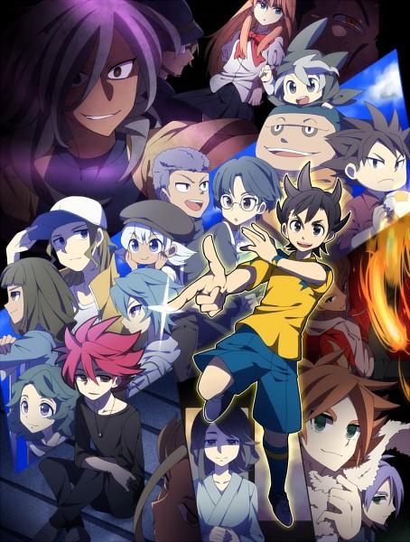 Tags: Anime, Pixiv Id 2296282, Inazuma Eleven: Ares no Tenbin, Inazuma Eleven, Nishikage Seiya, Goujin Tetsunosuke, Mikado Anna, Iwato Takashi, Fubuki Atsuya, Kozoumaru Sasuke, Umihara Norika, Michinari Tatsumi, Gouenji Shuuya, Inazuma Eleven Balance Of Ares