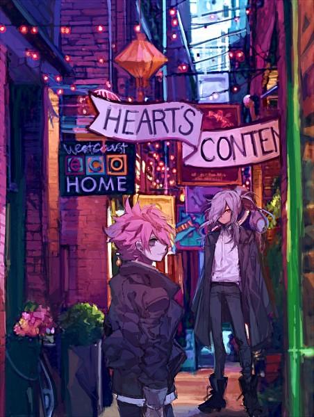 Tags: Anime, Pixiv Id 18478411, Inazuma Eleven: Ares no Tenbin, Nosaka Yuuma, Haizaki Ryouhei, Fanart From Pixiv, Mobile Wallpaper, PNG Conversion, Pixiv, Fanart, Inazuma Eleven Balance Of Ares