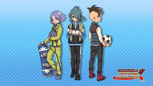 Tags: Anime, Inazuma Eleven: Ares no Tenbin, Inazuma Eleven, Fubuki Atsuya, Kazemaru Ichirouta, Fudou Akio, Track Pants, Official Art, Wallpaper, HD Wallpaper, Inazuma Eleven Balance Of Ares