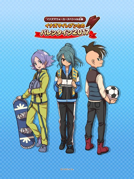 Tags: Anime, Inazuma Eleven: Ares no Tenbin, Inazuma Eleven, Fudou Akio, Fubuki Atsuya, Kazemaru Ichirouta, Official Art, Inazuma Eleven Balance Of Ares