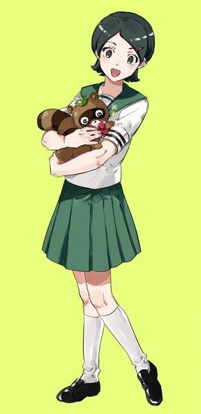 Tags: Anime, CHYA, Inazuma Eleven: Ares no Tenbin, Inazuma Eleven, Kino Aki, Tanukigahara Ponko, Raccoon, Pixiv, Fanart From Pixiv, Fanart, Inazuma Eleven Balance Of Ares