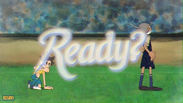 Tags: Anime, Pixiv Id 1068200, Inazuma Eleven: Ares no Tenbin, Inamori Asuto, Haizaki Ryouhei, Cuphead (Parody), Inakuni Raimon Uniform, Seishou Gakuen Uniform, Fanart, Fanart From Pixiv, Pixiv, Wallpaper, Inazuma Eleven Balance Of Ares