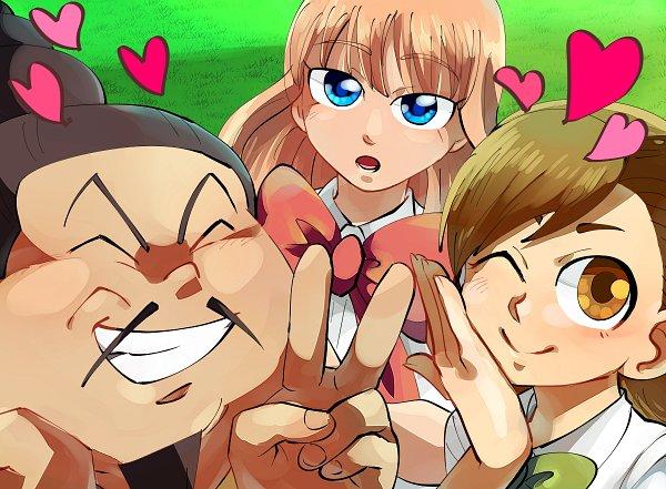 Tags: Anime, Pixiv Id 1068200, Inazuma Eleven: Ares no Tenbin, Inazuma Eleven, Ootani Tsukushi, Zhao Jinyun, Mikado Anna, Fanart, Fanart From Pixiv, Pixiv, Inazuma Eleven Balance Of Ares