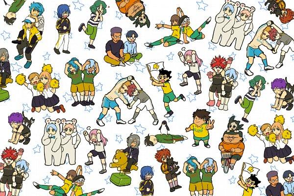 Tags: Anime, Pixiv Id 4436229, Inazuma Eleven: Ares no Tenbin, Inazuma Eleven, Ootani Tsukushi, Hiyori Masakatsu, Fudou Akio, Sasotsuka Eiji, Haizaki Ryouhei, Hiura Kirina, Kazemaru Ichirouta, Goujin Tetsunosuke, Fubuki Atsuya, Inazuma Eleven Balance Of Ares