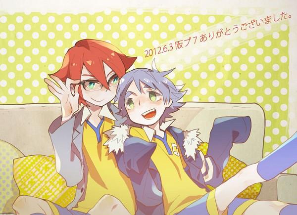 Tags: Anime, Pixiv Id 2974028, Inazuma Eleven, Inazuma Eleven GO, Kiyama Hiroto, Fubuki Shirou, Pixiv, Fanart From Pixiv, Fanart