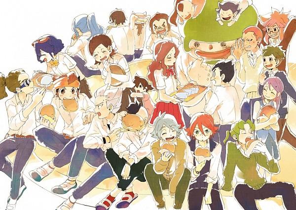 Tags: Anime, 283 (Artist), Inazuma Eleven, Matsuno Kuusuke, Ayumu Shorinji, Gouenji Shuuya, Gouenji Yuuka, Fubuki Shirou, Raimon Natsumi, Kogure Yuuya, Tsunami Jousuke, Kabeyama Heigorou, Kazemaru Ichirouta