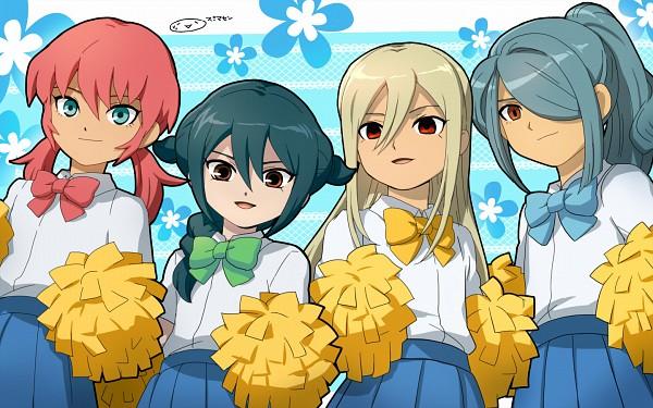 Tags: Anime, Mizuhara Aki, Inazuma Eleven GO, Inazuma Eleven, Mistorene Callus, Afuro Terumi, Kirino Ranmaru, Kazemaru Ichirouta, Pixiv, Wallpaper, Fanart From Pixiv, Fanart, Team Ogre