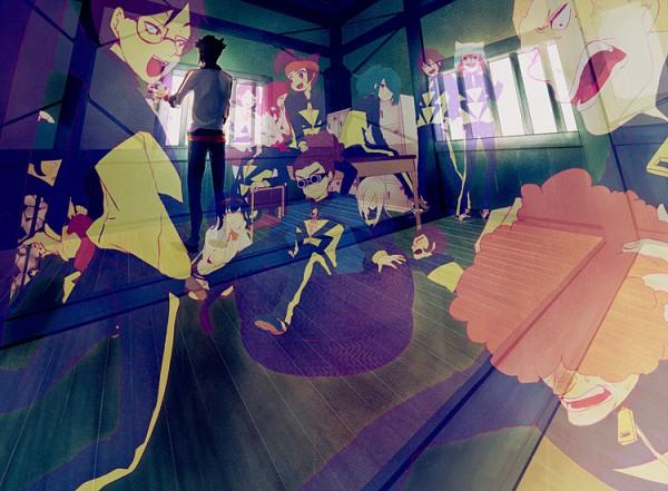 Tags: Anime, Pixiv Id 346955, Level-5, Inazuma Eleven, Inazuma Eleven GO, Gouenji Shuuya, Kudou Fuyuka, Kino Aki, Sakichi Shishido, Someoka Ryuugo, Handa Shinichi, Matsuno Kuusuke, Kageno Jin