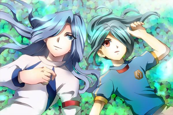 Tags: Anime, Pixiv Id 945745, Inazuma Eleven, Kazemaru Ichirouta, Valtinas Edgar, Knights Of Queen Uniform, Pixiv, Fanart From Pixiv, Fanart, Knights of Queen, Inazuma Japan