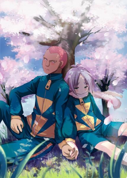 Tags: Anime, Suama, Inazuma Eleven, Someoka Ryuugo, Fubuki Shirou, Pixiv, Fanart